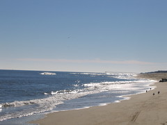 glistening sands of outerbanks