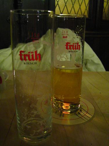 ケルシュ(ケルン特産のビール)