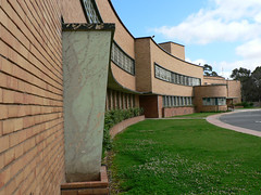 Adelaide High School, South Australia, a beautiful Art Deco style school building