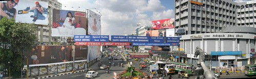 Panoramic View from Anna Flyover, Chennai
