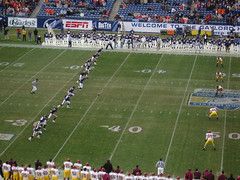 Kickoff, Music City Bowl, 12.30.2005