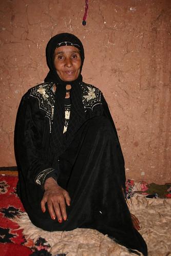 Berber woman in Achehoud.