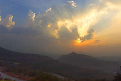 Sunbeams at Lonavla photo by Anindo Ghosh