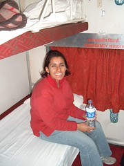On the Rajdhani Express