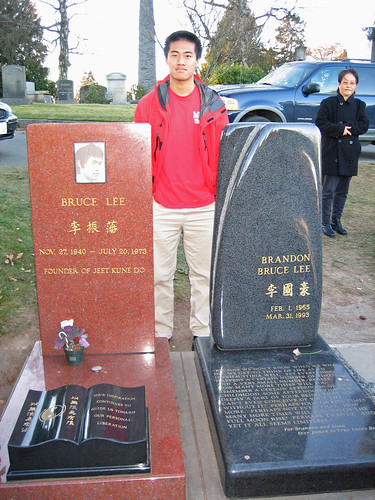Me at Bruce Lee's Grave