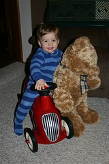 Car & Teddy