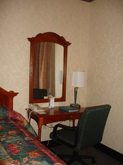 Desk in Hotel Room, Chateau Sonesta, New Orleans
