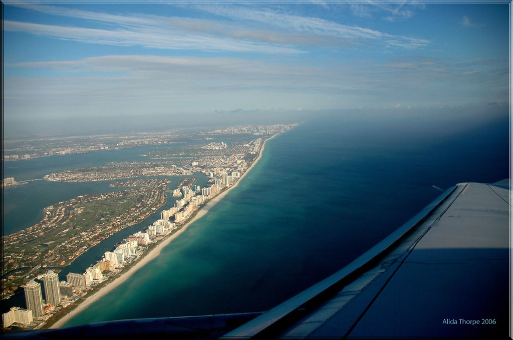 Miami, Florida from the air