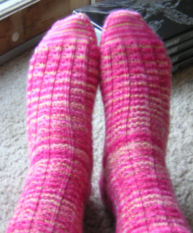 fluted banister sock pair finished 1