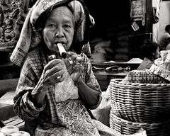 old woman w cigar photo by Sara Heinrichs (awfulsara)