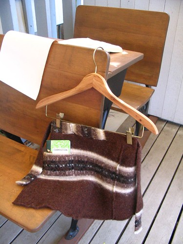 tie one on apron-from a sweater