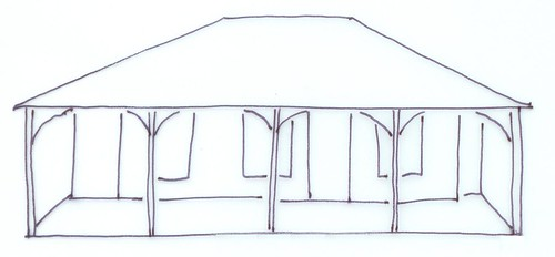Wide-hipped Roof
