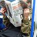 Tube Strike Cause Chaos - Evening Standard