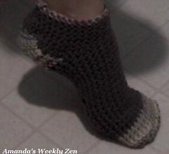 crochet sock 1