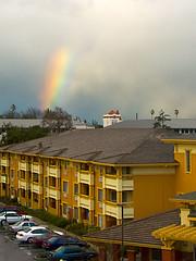 Rainbow over Santa Clara