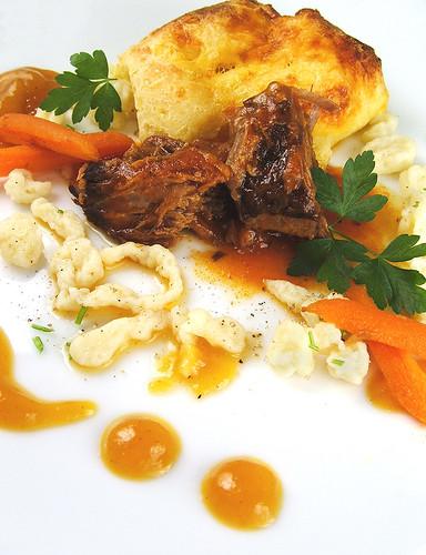 Spaetzle and Pot Roast