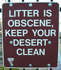 Litter is Obscene