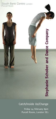 Stephanie Schober & Dance Company Flyer Front