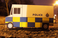 This is my interpretation of an english police van.