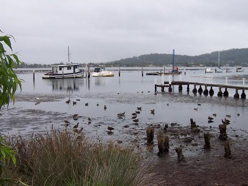 Low tide at Blackwall