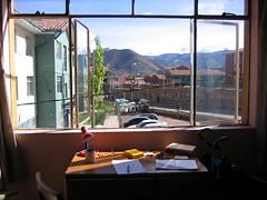 Desk at Zarumilla