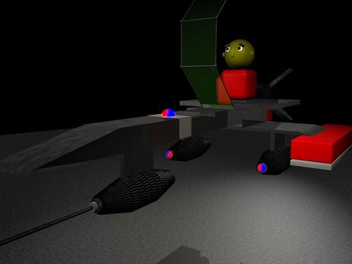 Model for 3D, 2/8/06