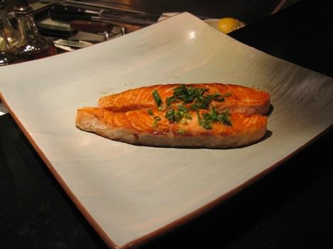 teppanyaki--salmon