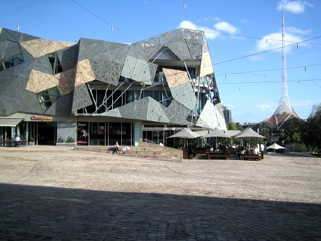 Federation Square As Alien Landscape