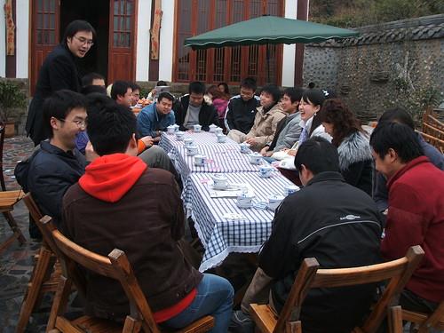 classmates meeting