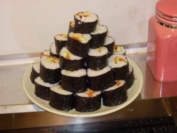 sushi making 5