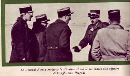 13 DBLE- 1942 - Libye- Bir Hakeim -Koenig