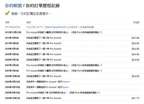 Flickr 原 Pro 客戶已可轉續購 @3C 達人廖阿輝