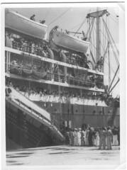 BP- Arrivée du Saggitaire à Nouméa 21 mai 1946Fonds Jean Tranape
