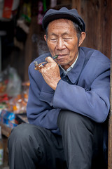 Langde village : Log Skirt Miao #20 photo by foto_morgana