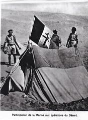 1942 - Libye désert fusiliers marins