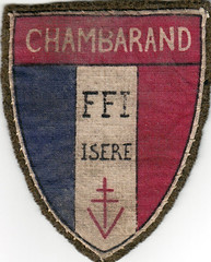 Insigne chambarand - Col. Blandine Bongrand Saint Hillier