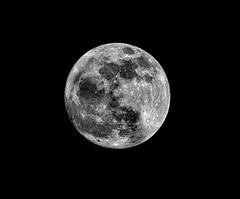 2014-03-15, Full Moon shot with a Nikon 70-200, F4 lens and a Nikon 1.7 tele-converter photo by Ed Episcopo