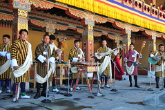 Bhutanese Dance Band. photo by john a d willis