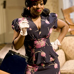 Alexis J. Rogers (Lou Bessie) in THE OLD SETTLER at Writers Theatre. Photos by Michael Brosilow.