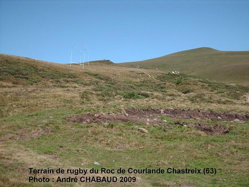 Terrain de rugby du Roc de Courlande Chastreix (63) 1