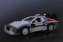 Delorean Time Machine photo by Legohaulic