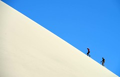 Sand dune runners, Atacama desert, Chile. photo by mikekingphoto