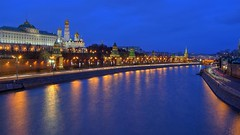 moscow river photo by Sergey S Ponomarev