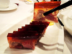 Meat jelly 餚肉 photo by Melinda ^..^