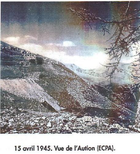 1945- 15 avril- Authion - Vue sur l'Authion - CP Ecpa