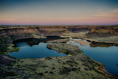 Dry Falls Lake photo by NW Vagabond