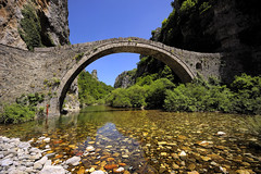 Stone bridge in Epirus.........ON EXPLORE photo by Sunsword & Moonsabre