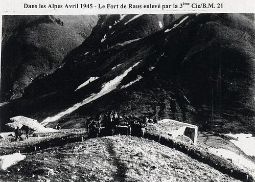 BM 21-1945- Authion- Fort de rauss
