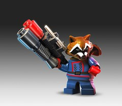 LEGO Marvel Super Heroes Rocket Raccoon photo by TooMuchDew