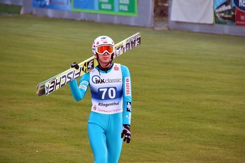 Skispringen Sommer Grand Prix Klingenthal 2./3.10.2013 - Kamil Stoch